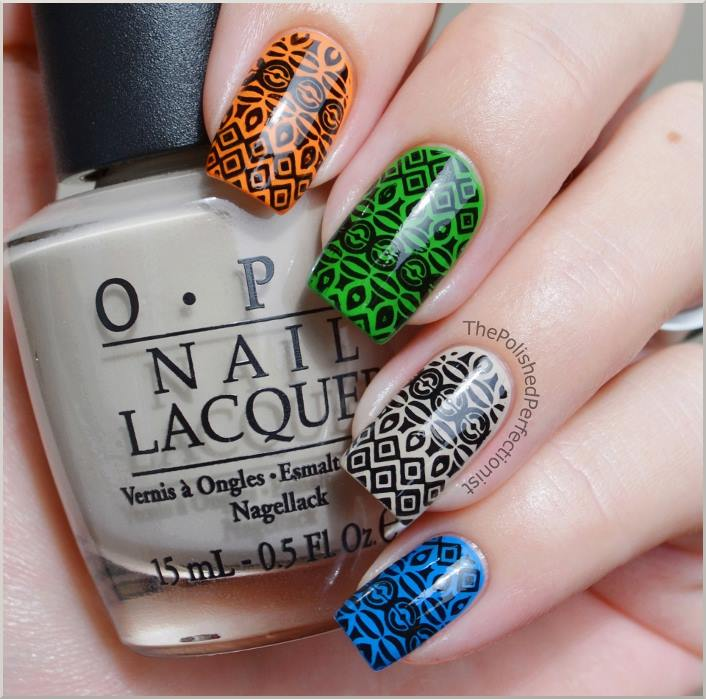 84 cute amp colorful tribal nail art designs for summer 2017