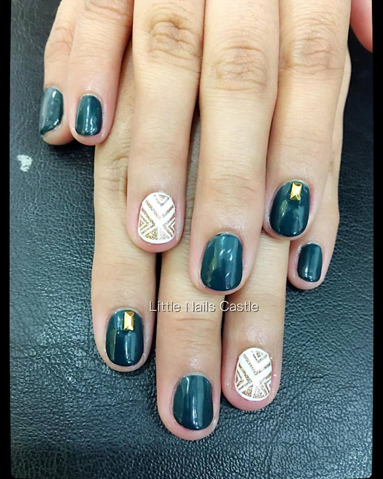 Tribal-Nail-Art-Design-27 - Blurmark