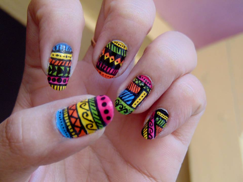 tribal nail design cute tribal nail design 84 cute