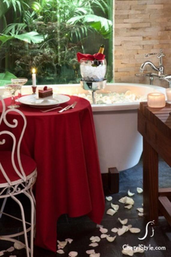 35 Romantic Bathroom D 233 Cor Ideas For Valentine S Day