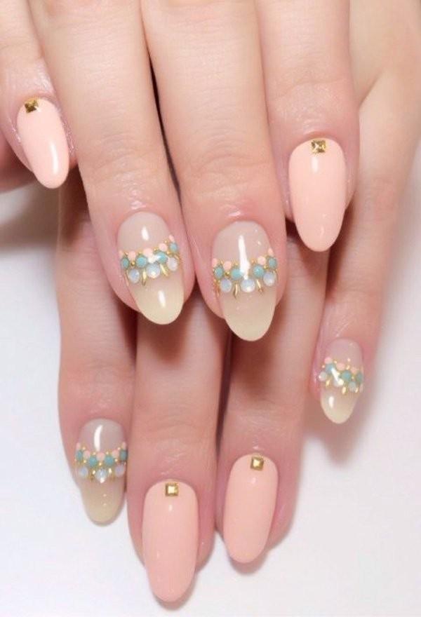 84 Attractive Wedding Nail Art Design Ideas For Brides ... - photo #8