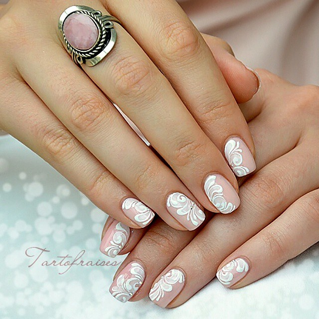 84 Attractive Wedding Nail Art Design Ideas For Brides Blurmark