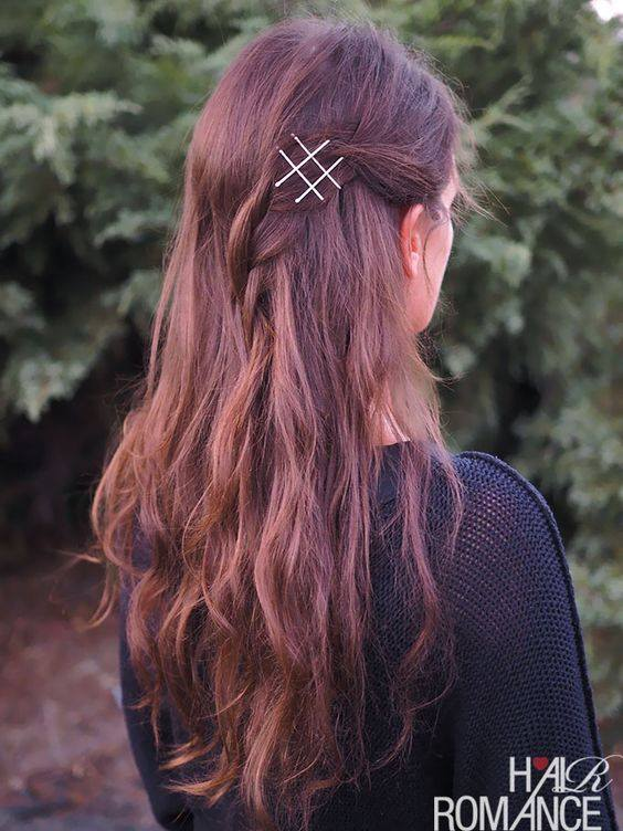 40 Amazing Bobby Pins Hairstyle Ideas To Transform Your