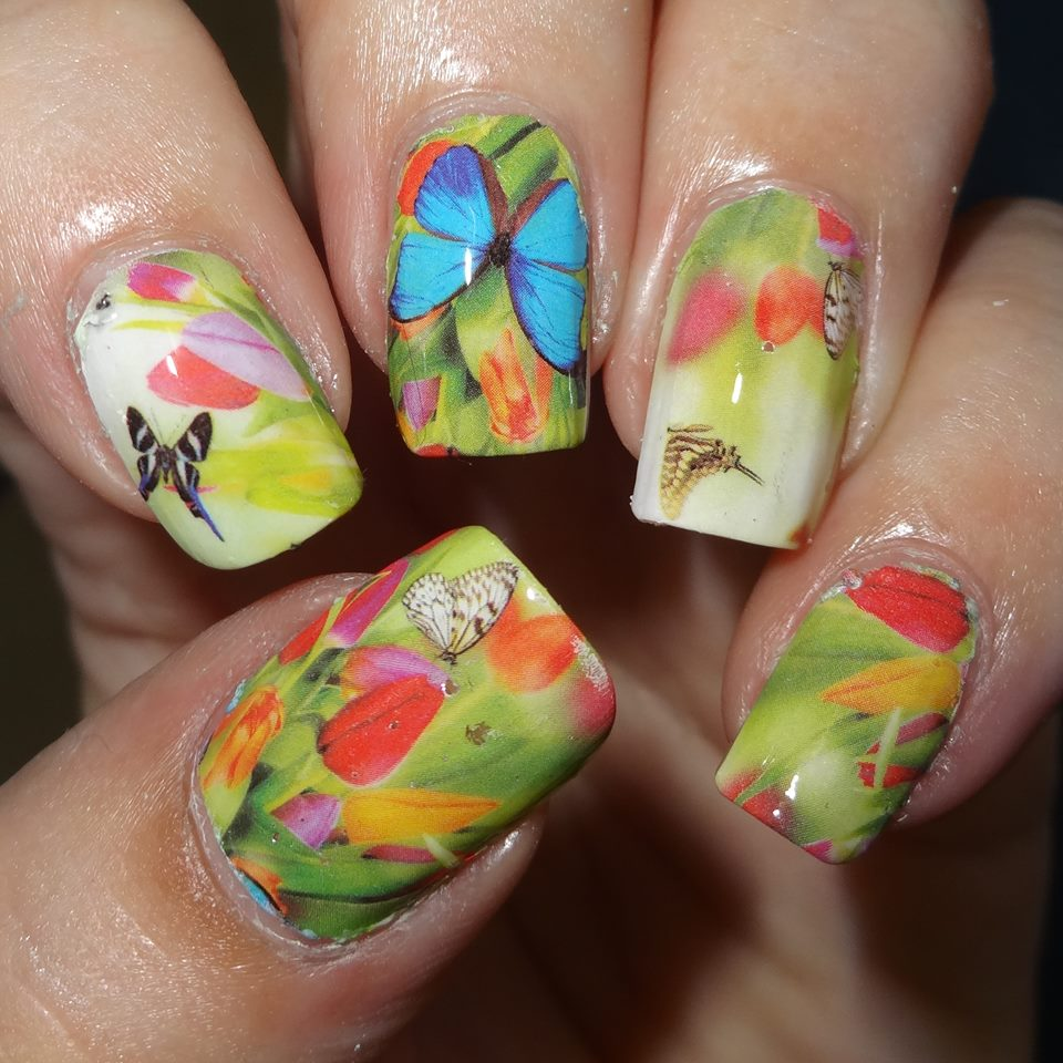 Butterfly Nail Designs Step By Step: 74 Awesome Butterfly Nail Art Ideas That You Will Love