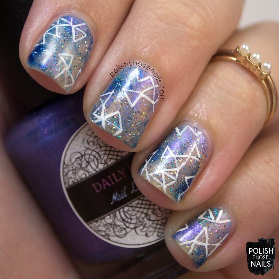 45 Beautiful Galaxy Nail Art Design Ideas - Blurmark