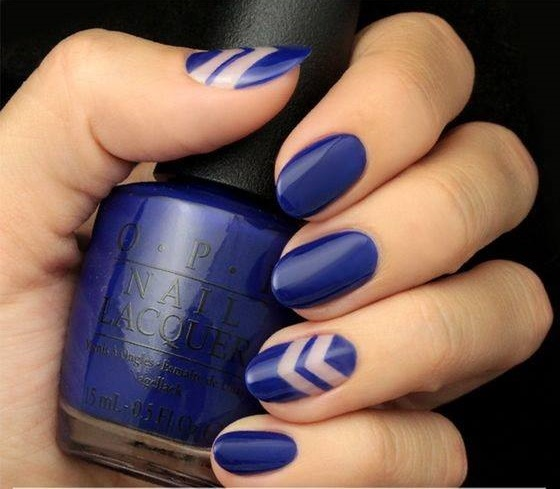 47 Fabulous Negative Space Nail Art Design For Elegant Look Blurmark
