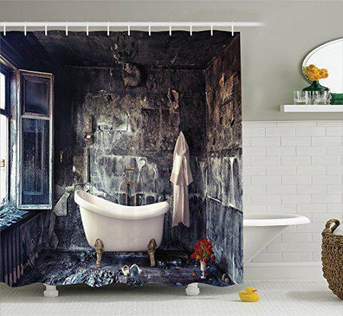 Bathroom Ideas: 46 Unique Bathroom Shower Curtain Ideas In 2017