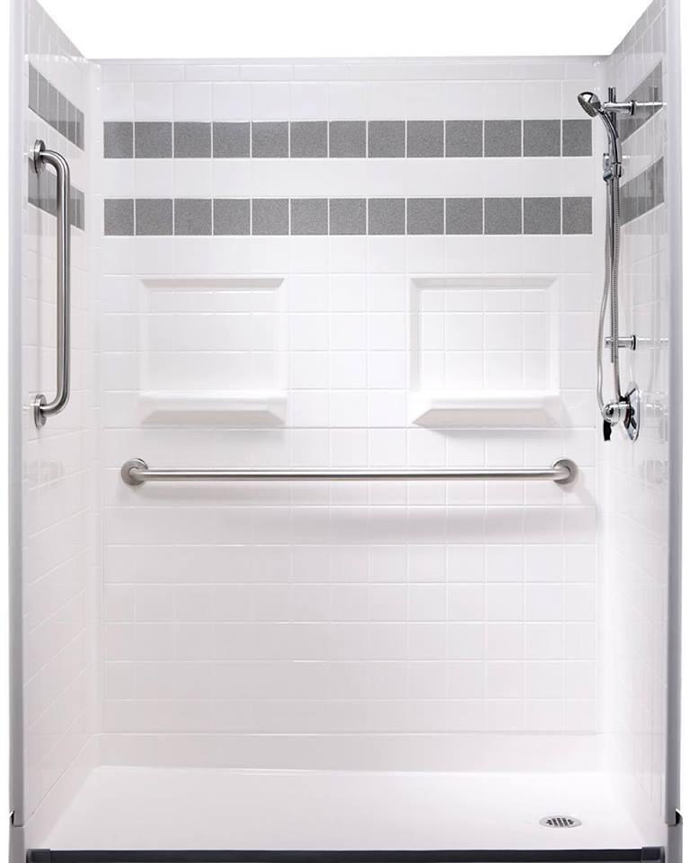 Low Step Shower Steam Shower Design