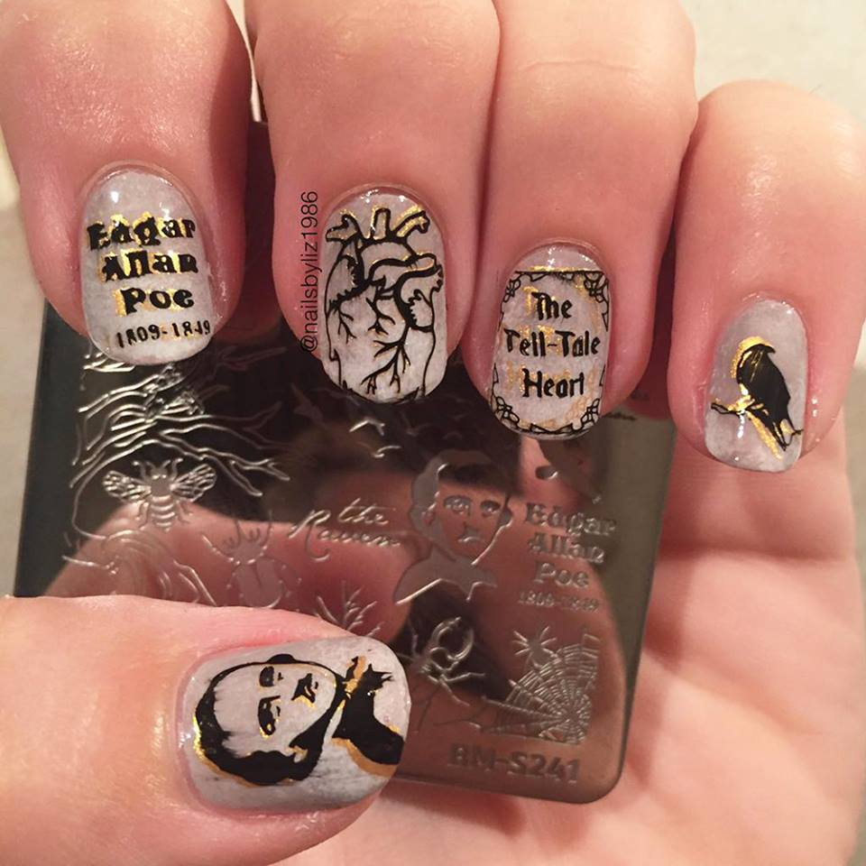 Awesome Halloween Nail Art Design ideas