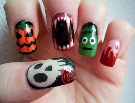 Awesome Halloween Nails