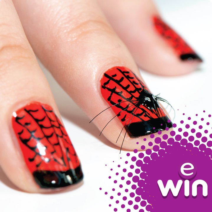 Beautiful Halloween Theamed Nails