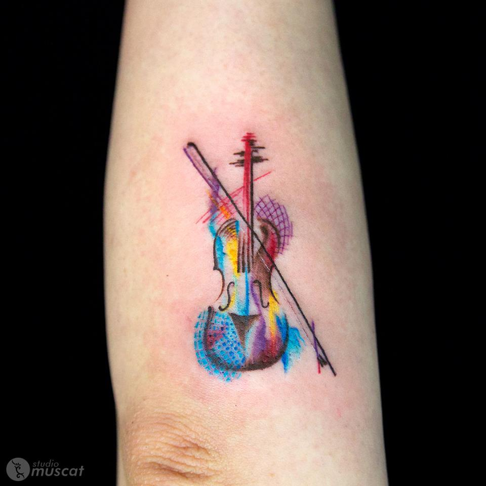 60 Creative Music Tattoo Design Ideas For Music Lovers
