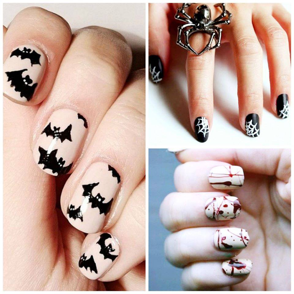 Cool Halloween Nail Art Design Ideas