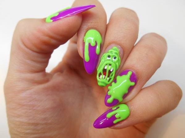 Creative Halloween Nails