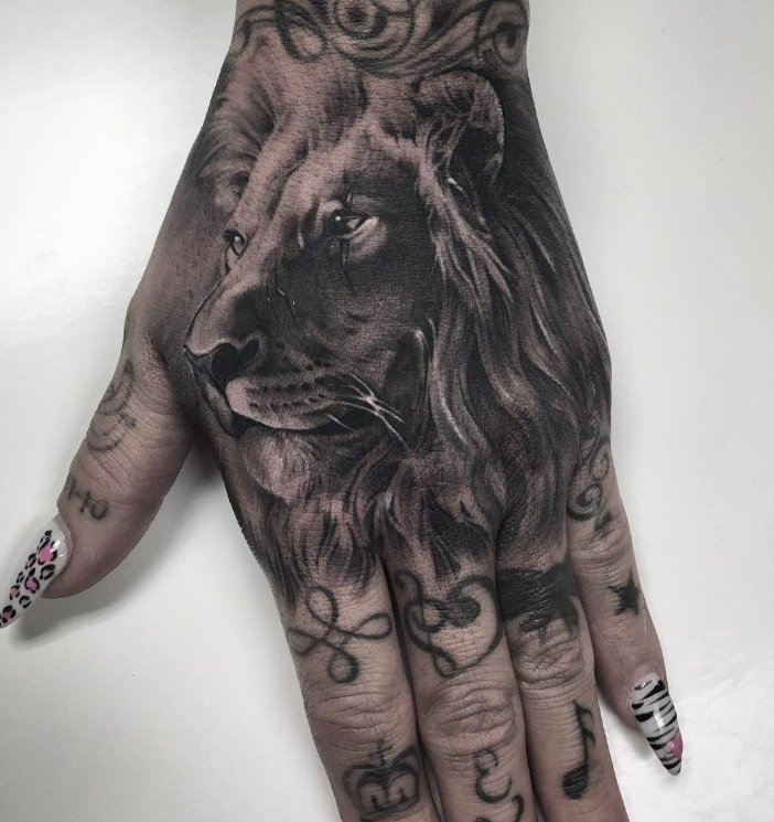 b3b74dfbe4ad9 Creative Lion Tattoos Related Keywords & Suggestions - Creative Lion ...