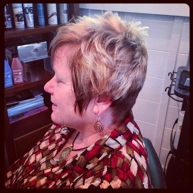 33 Iconic Short Shag Hair Cut For Mature Women In 2017
