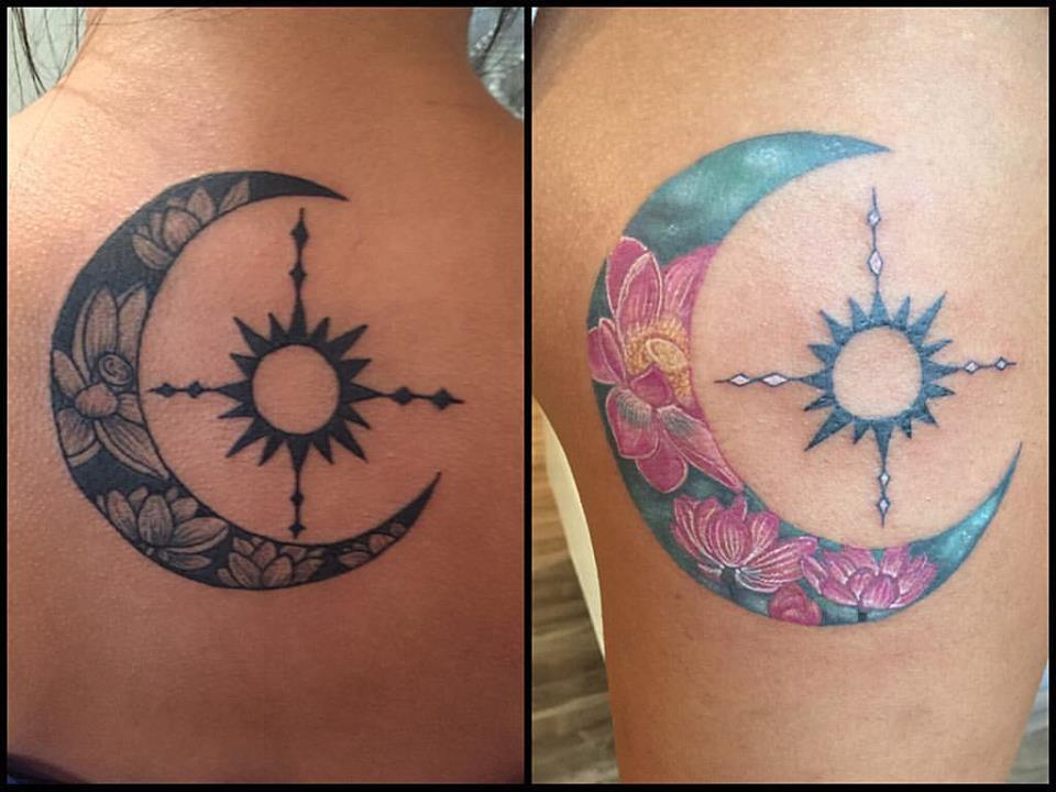 65 Moon Tattoo Design Ideas For Women To Enhance Your Beauty