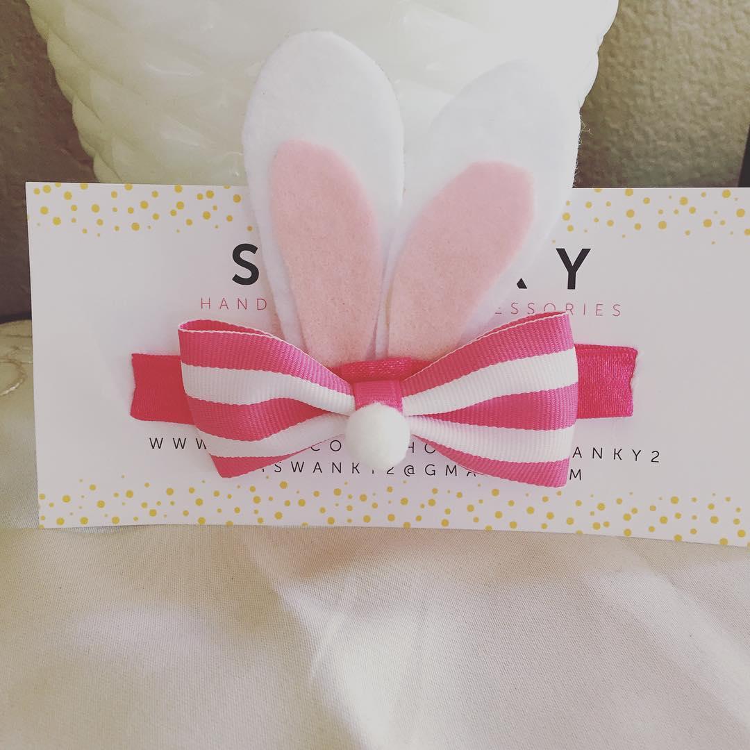 Fabulous Bunny Ears Headband On Easter