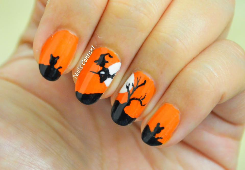 Hallloween Witch Nails