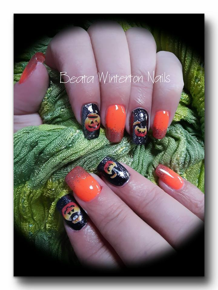 Halloween Party Nail Art