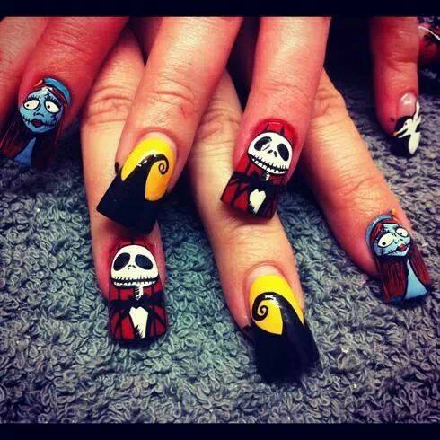 Halloween Stylish Nails