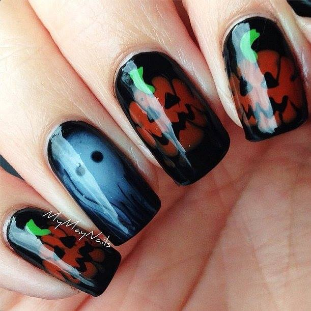 Hilarious Halloween Nails