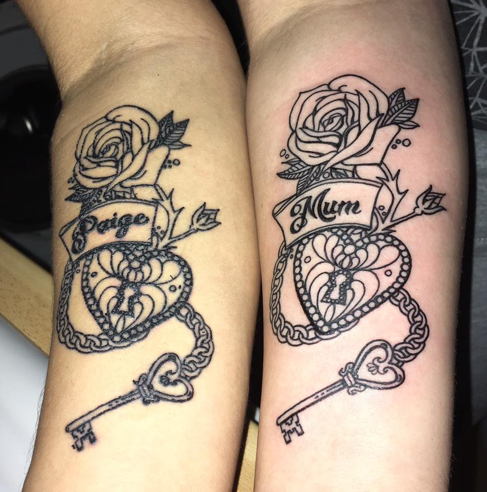 55 Awesome Mother Daughter Tattoo Design Ideas Ecstasycoffee: Mother Daughter Tattoos Ideas