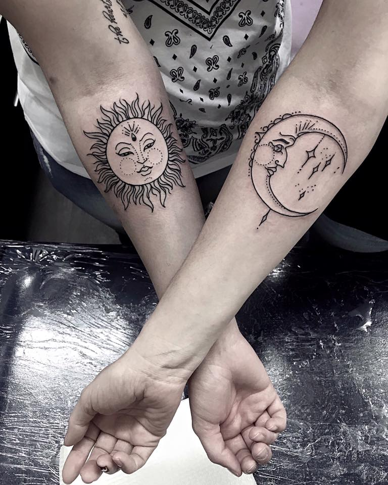 Mother Daughter Tattoos Ideas - Blurmark