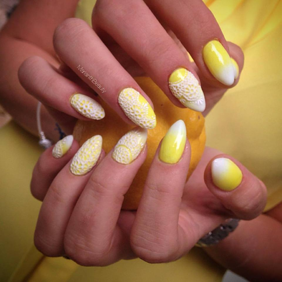 Try 50 Stunning Yellow Nail Designs And Get Ready For ...