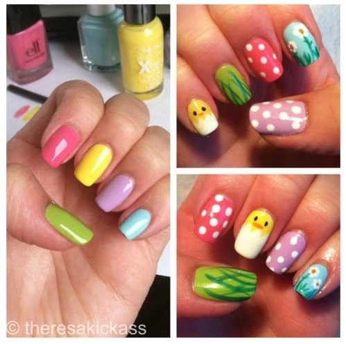 70 easy easter nail art ideas you must try