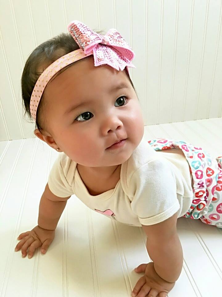 Pink Baby Girl Bow