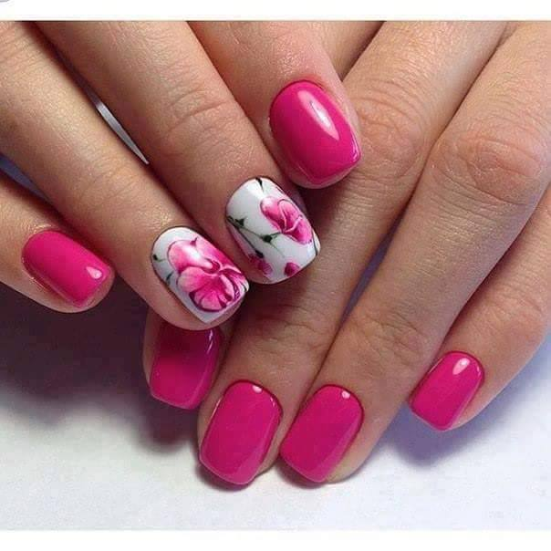 how to do nail art flowers Archives - Blurmark