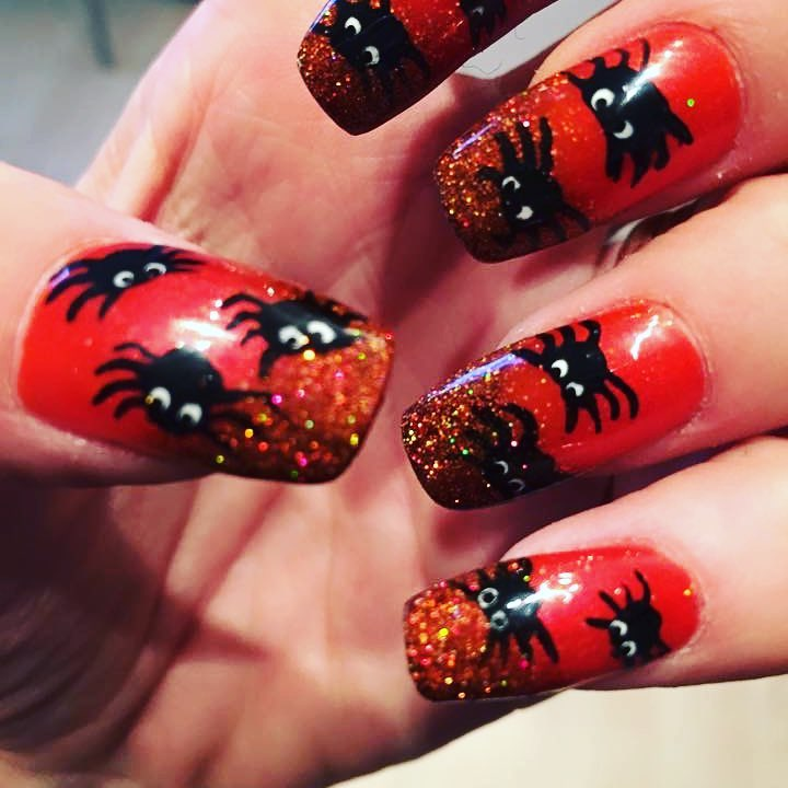 Spooky Halloween Nails