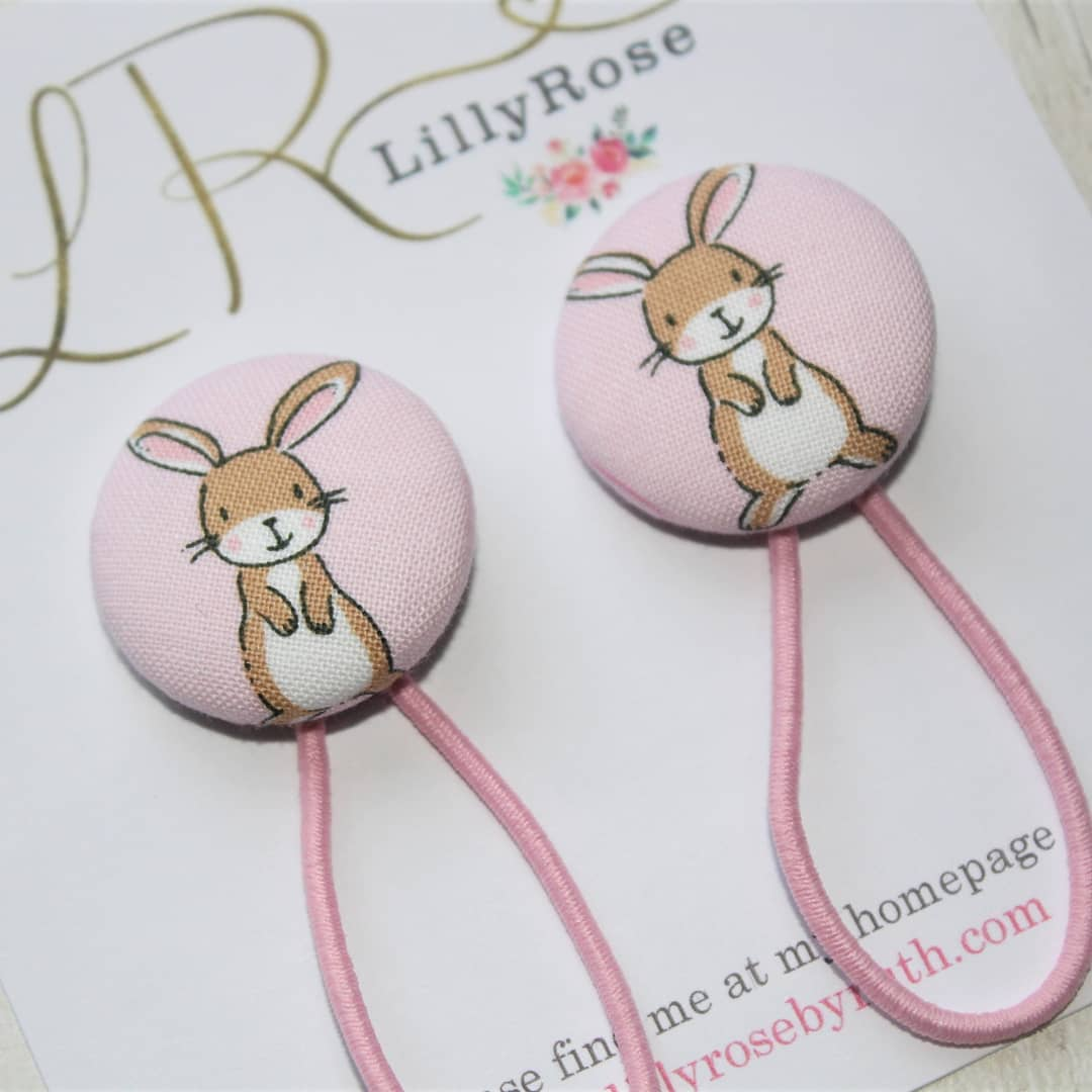 Utterly Adorable Bunny Clips For Toddler