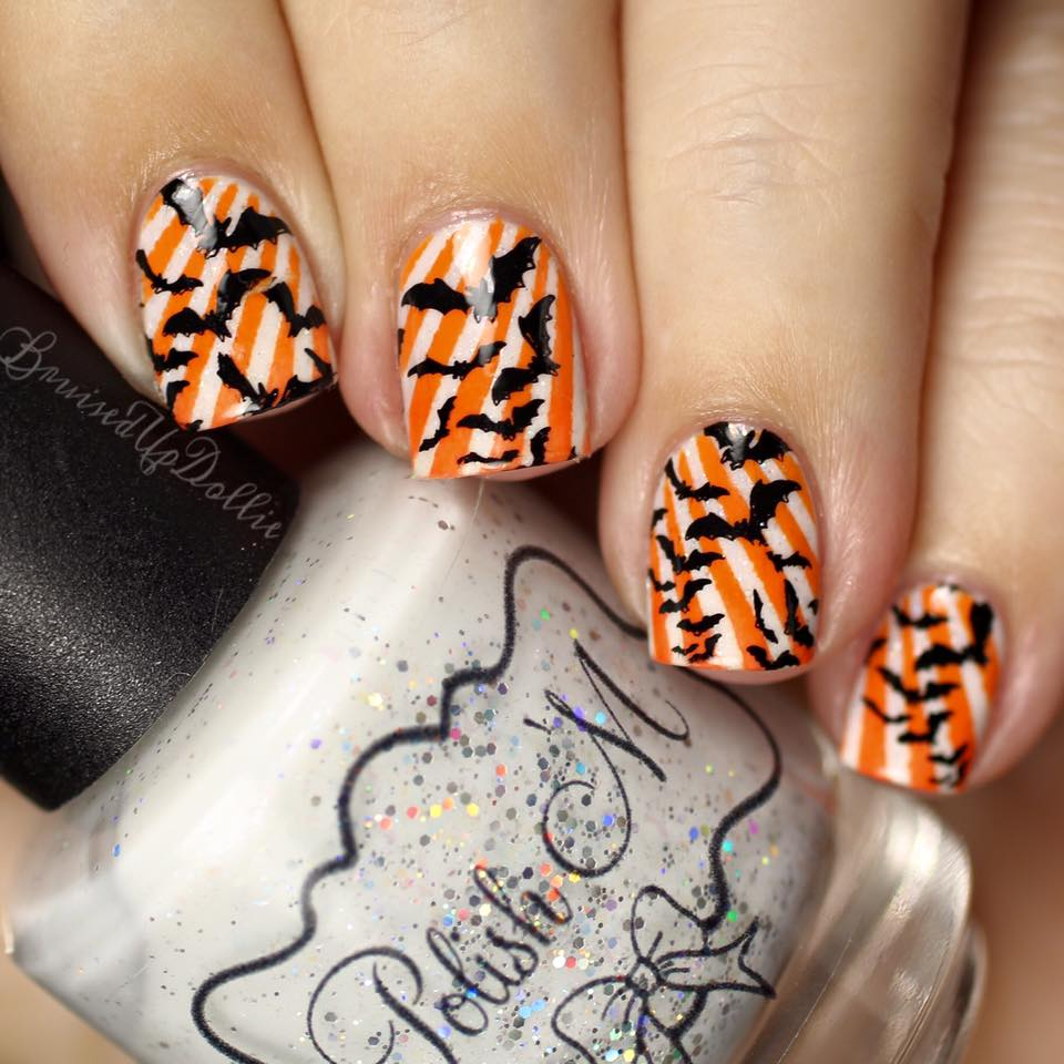Vibrant Halloween Nails