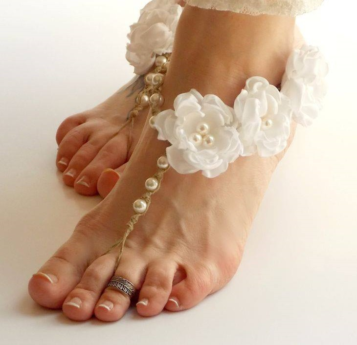 45 adorable barefoot beach wedding shoes ideas for beautiful bride barefoot beach wedding shoes ideas junglespirit Images