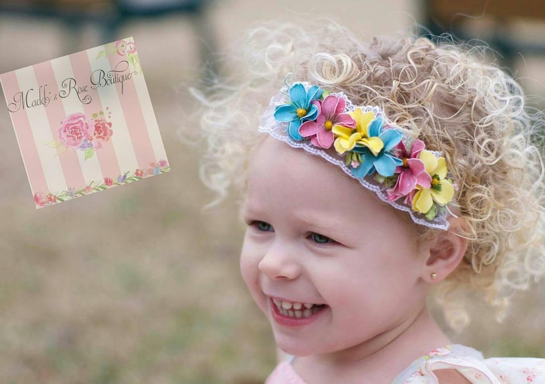 Wild Flower Headband