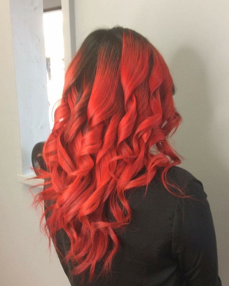 Awesome Bright Red Hairs
