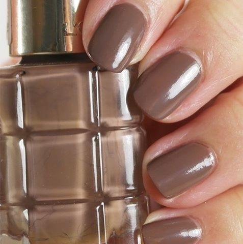 Beautiful Brown Neutral Nails