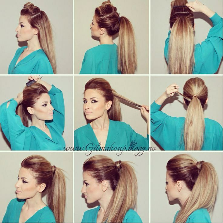 Beautiful Ponytail Tutorials