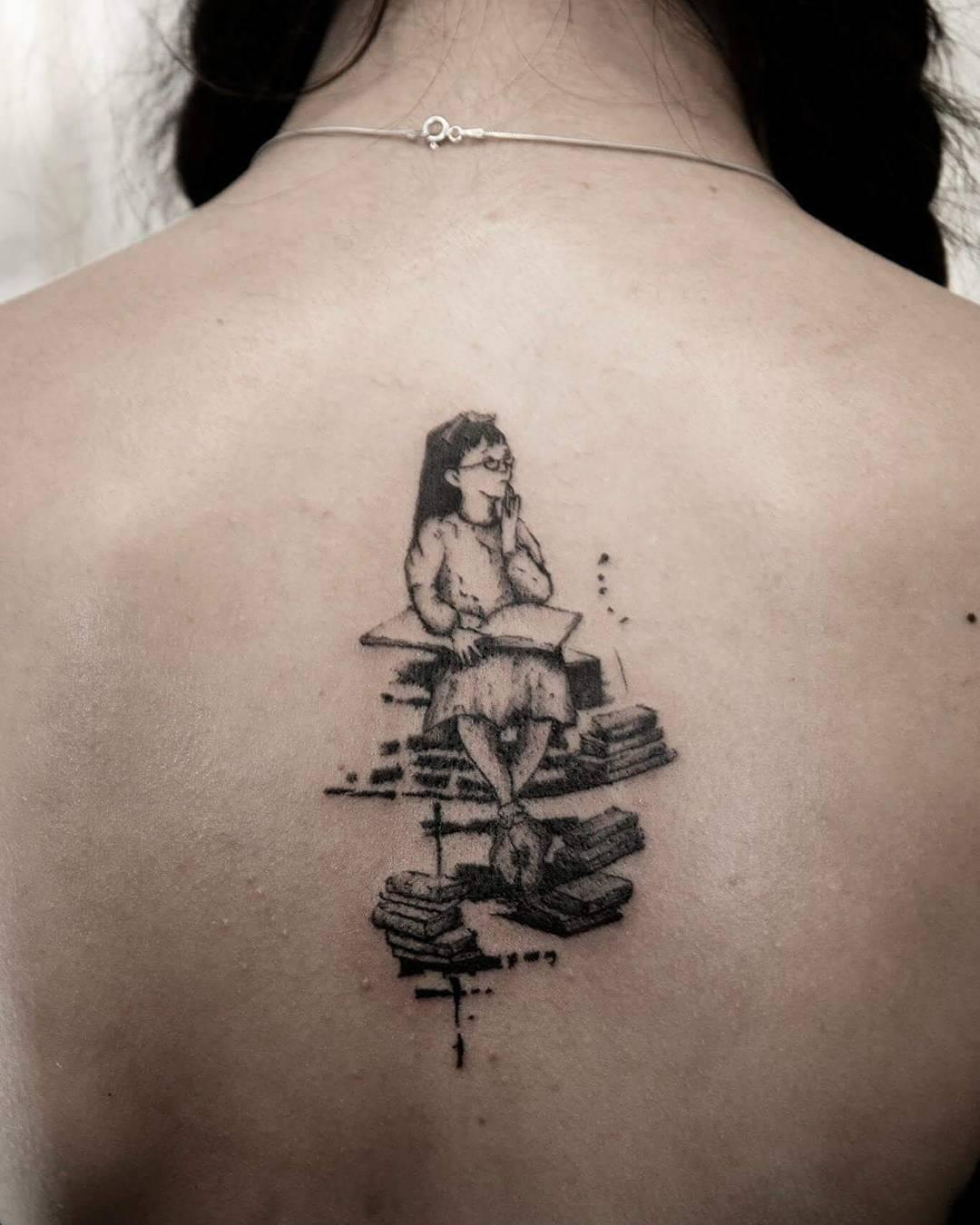 48 Inspiring Book Tatt...