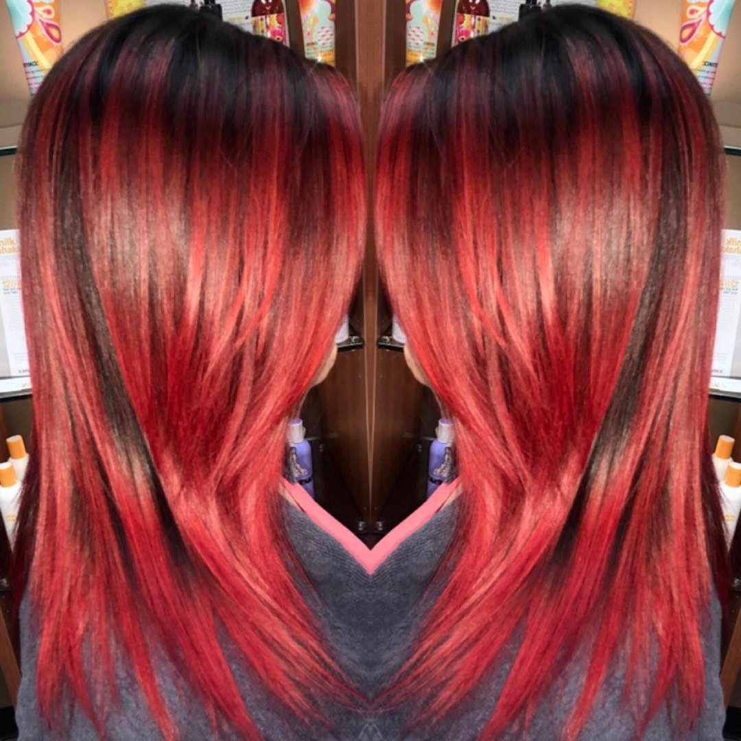 Chic Red Hairs