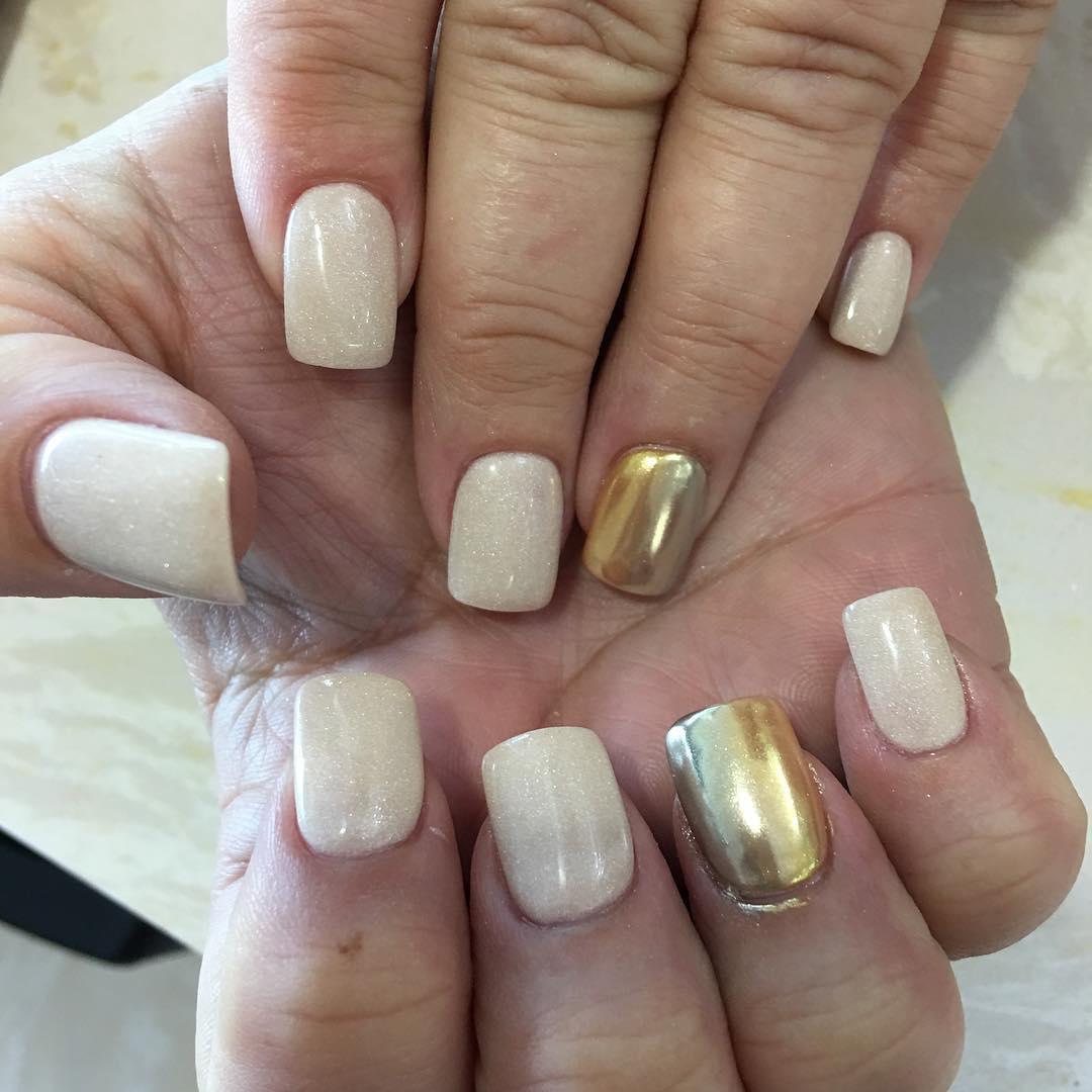 Chrome Tiffanie Nails