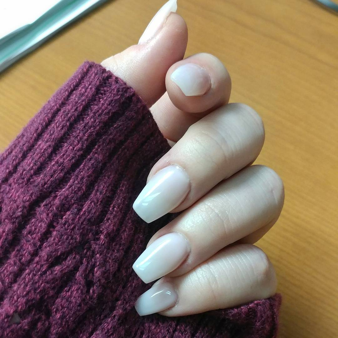 Coffin Clean Nails