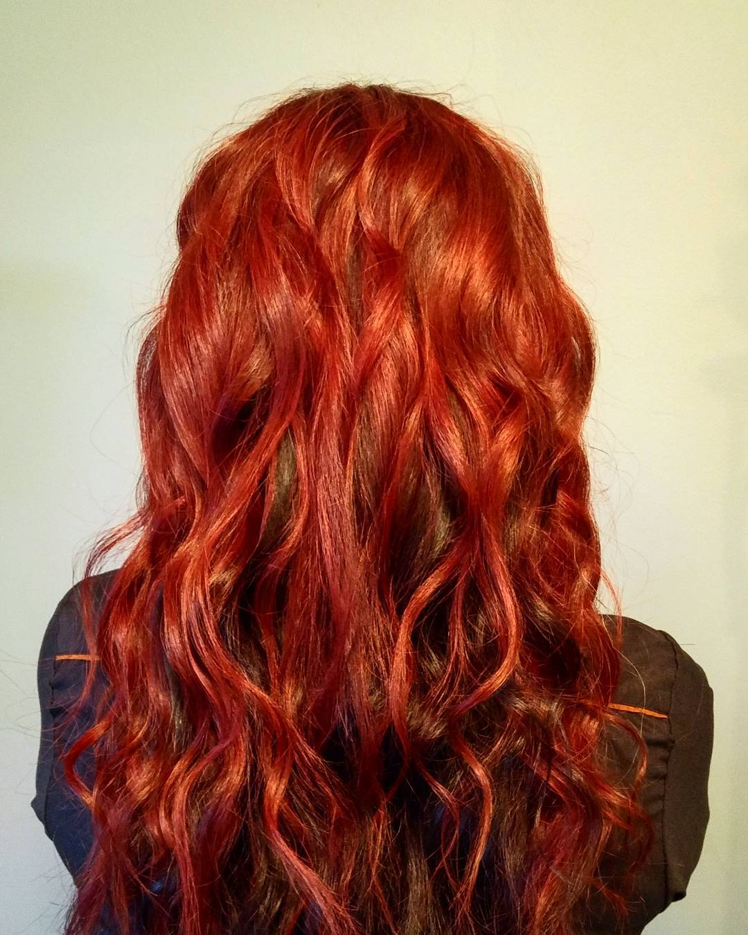 Curly Red Hairs