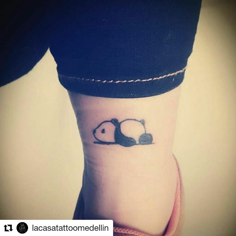59 amazing panda bear tattoo ideas for girls for Cute lower back tattoos tumblr