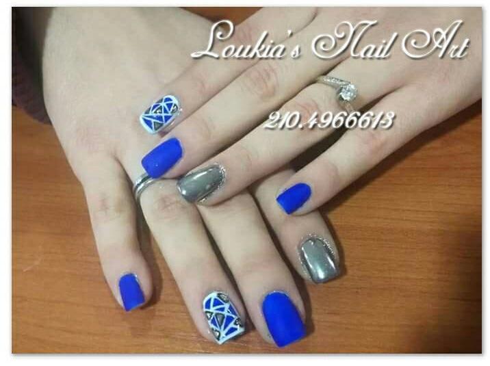 Royal Blue Nail Polish