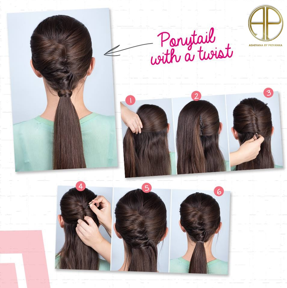 Elegant Easy Ponytail