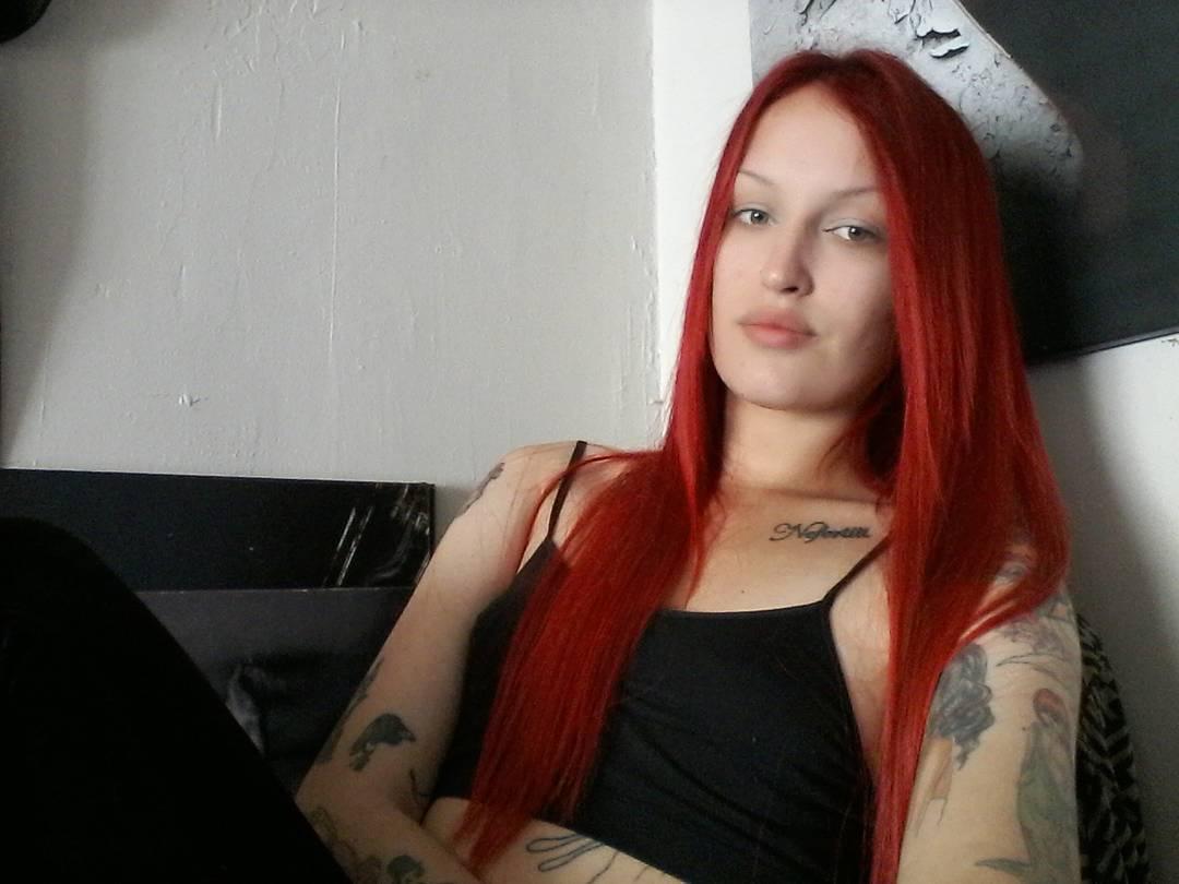 Elegant Red Hairs