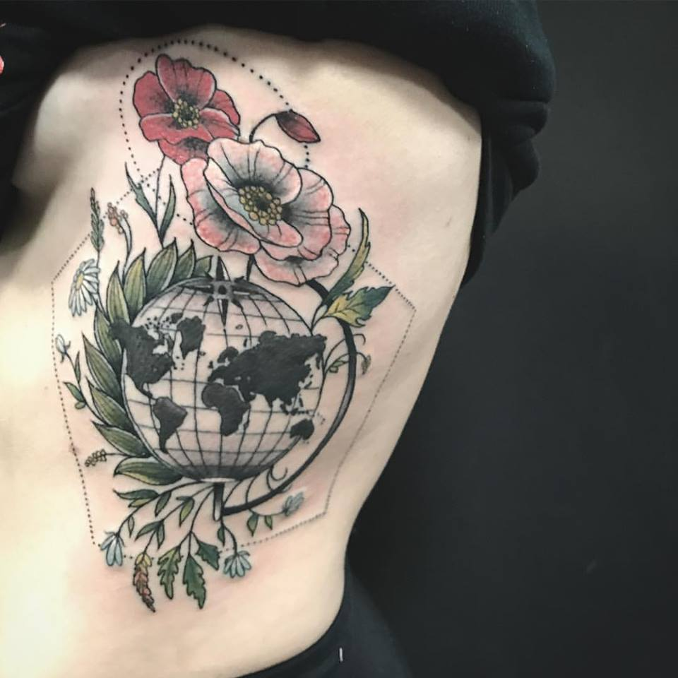 52 Incredible Flower Tattoo Designs For Women